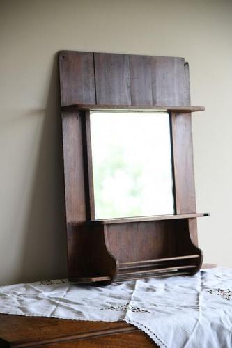 Rustic Pine Vanity Mirror (1 of 9)