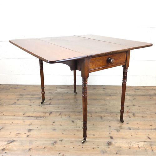 Victorian Oak Pembroke Table (1 of 9)