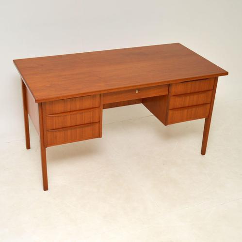 1960's Danish Teak Vintage Desk (1 of 11)
