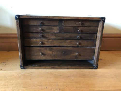 Engineers Desk Chest with 7 Drawers (1 of 11)
