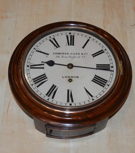 "Camerer Cuss Smaller 10"" Dial Wall Clock (1 of 5)"