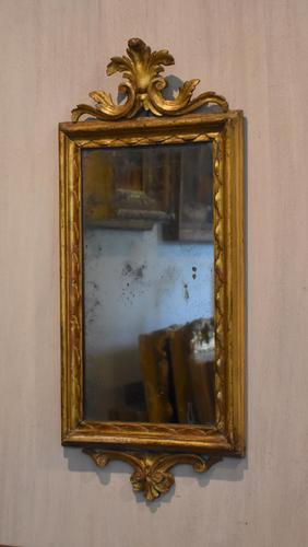 Small Giltwood Pier Mirror (1 of 7)