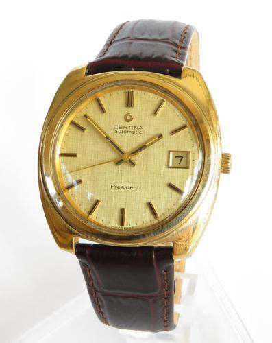 Gents 1970s Certina President Wrist Watch (1 of 5)