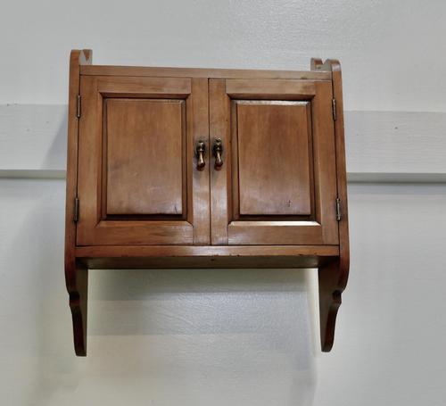 Victorian Cherrywood Bathroom Cupboard (1 of 5)