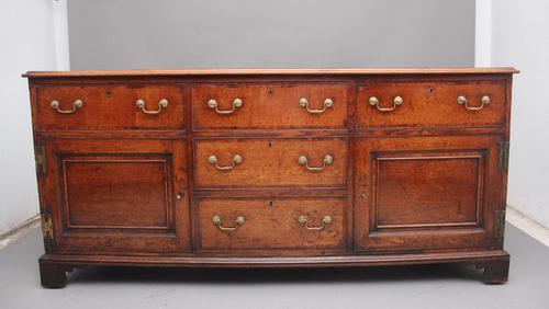 Large 18th Century Country Oak Dresser Base (1 of 9)