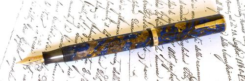 Waterman Lady Patricia Turquoise - c1930 (1 of 5)