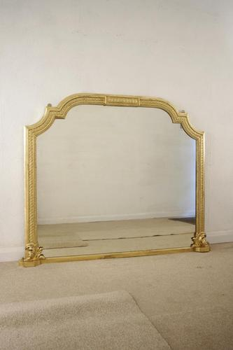 Large Gilt  Overmantle (1 of 13)