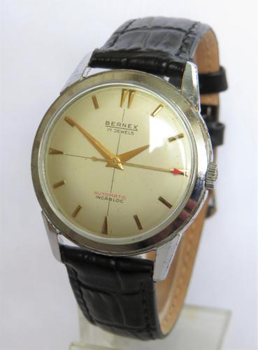 Gents 1950s Bernex Automatic Wrist Watch (1 of 5)