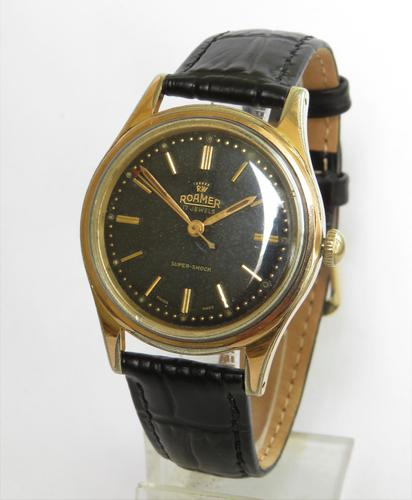 Gents Roamer wrist watch, c1960 (1 of 4)
