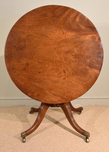 Regency Mahogany Supper Table (1 of 6)