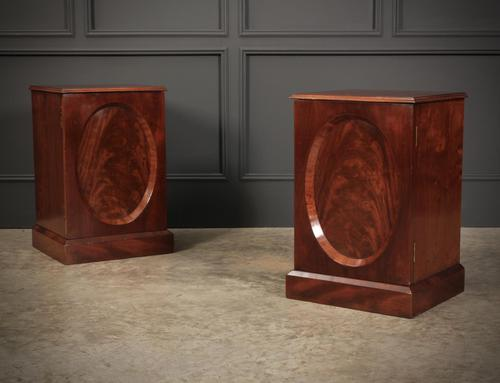 Victorian Mahogany Bedside Cabinets (1 of 13)