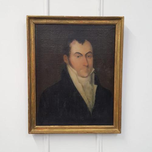 Antique Oil Painting of Regency Gentleman (1 of 4)