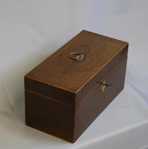 Georgian Mahogany Tea Caddy (1 of 6)