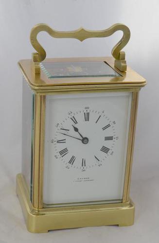 Gaydon Norwood Retailed French Striking Carriage Clock (1 of 4)