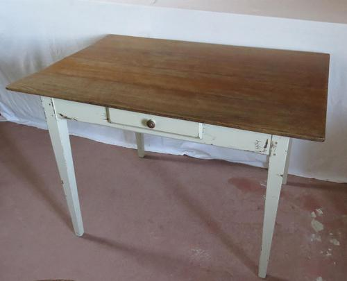 Mid 19th Century Oak French Country Table (1 of 14)