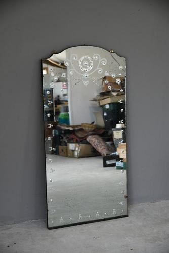 Vintage Etched Wall Mirror (1 of 13)