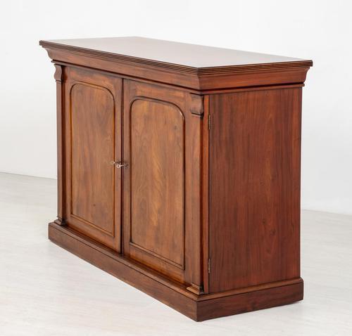 Good William IV Mahogany Side Cabinet (1 of 7)