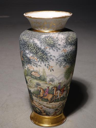 Good Early 20th Century French Porcelain Vase (1 of 4)