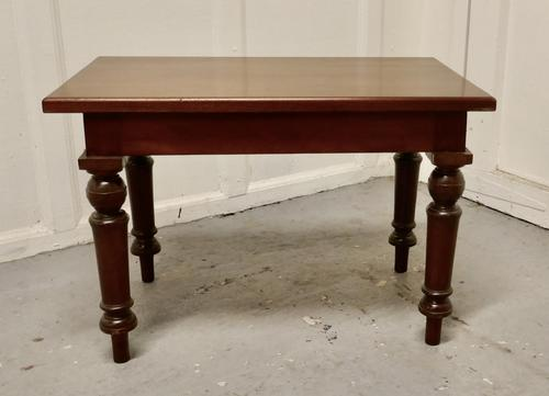 Small Mahogany Occasional Table (1 of 6)
