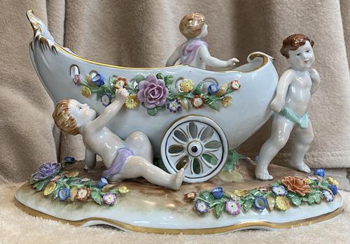 Dresden Porcelain Table Centre Piece (1 of 6)