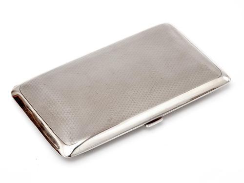 Elkington & Co Rectangular Silver Pocket Cigar Case (1 of 7)