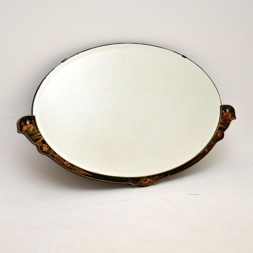 Antique Chinese Style Chinoiserie Mirror (1 of 7)