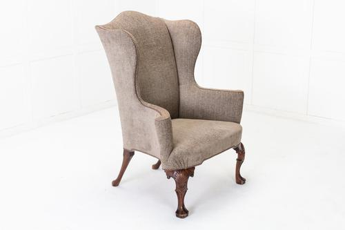 1930s Walnut Wing Chair (1 of 7)