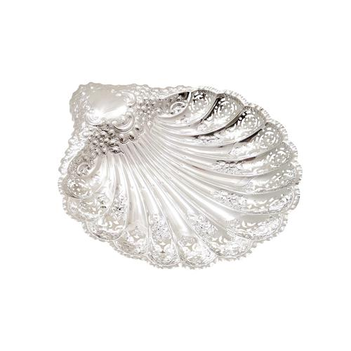 Antique Edwardian Sterling Silver Shell Dish 1905 (1 of 10)