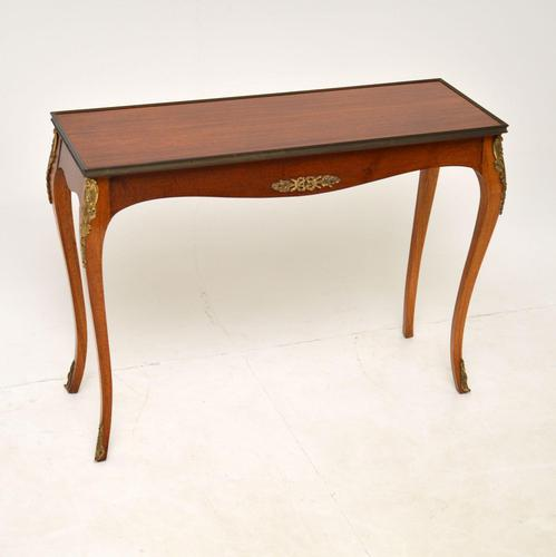 Antique French Mahogany Side Table (1 of 10)