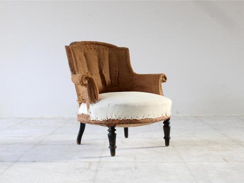 19th Century Napoleon III Armchair (1 of 9)