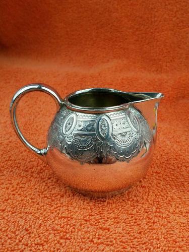Antique Silver Plate 1/4 Pint Milk Jug (1 of 8)