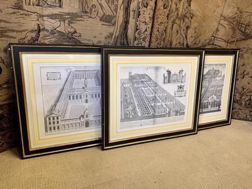 Set of Three Historical Prints (1 of 7)