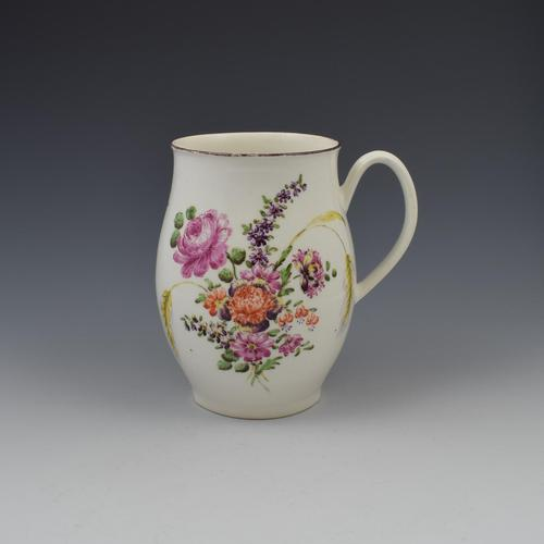 Early Derby Porcelain Large Ovoid Barrel Shaped Mug c.1760 (1 of 14)