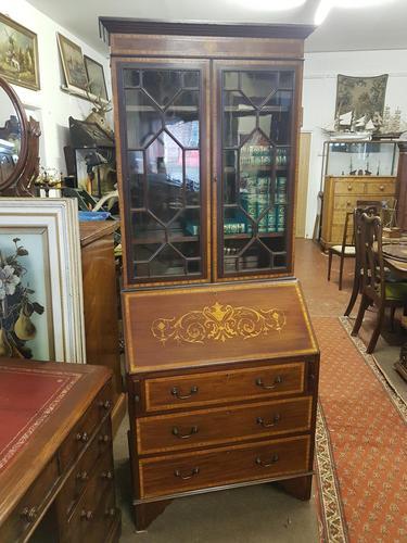 Antique Bureau Bookcase (1 of 5)