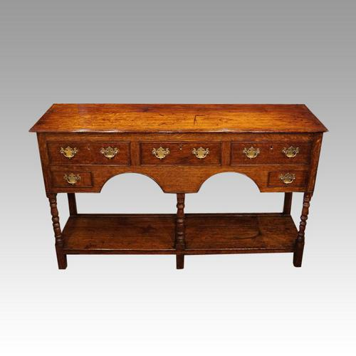 Antique Oak Small Dresser Base (1 of 11)