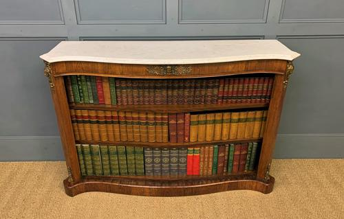 19th Century Rosewood Open Bookcase (1 of 13)