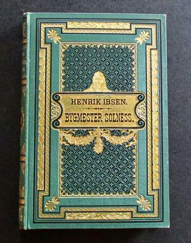 1892 1st Edition - Bygmester Solness by Henrik Ibsen (1 of 5)