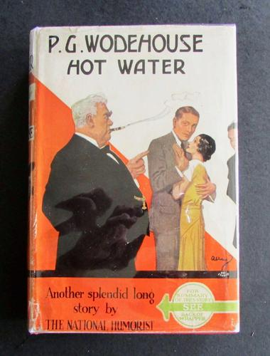 1940 Hot Water by P G Wodehouse with Original Dust Jacket (1 of 5)