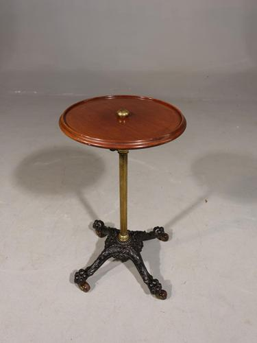 Attractive Late 19th Century Metamorphic Cast Iron & Mahogany Table (1 of 6)