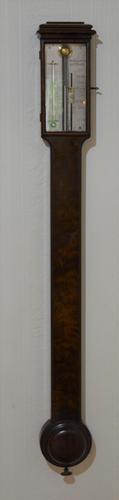 Georgian Dolland of London Stick Barometer Mahogany (1 of 6)