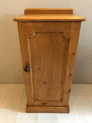 Pine Bedside Cupboard (1 of 5)
