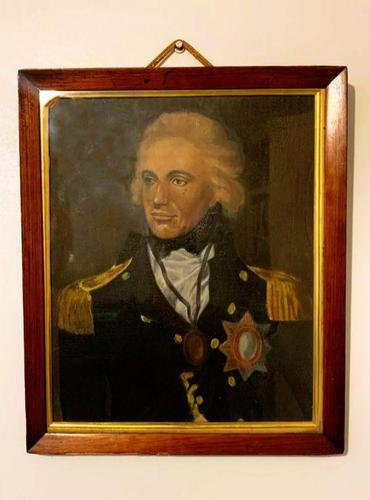 Horatio Lord Nelson after Lemuel Francis Abbott Oil Portrait Painting Battle of Trafalgar (1 of 5)
