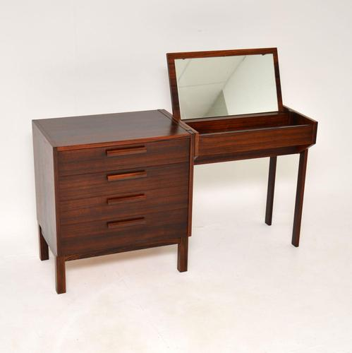 1960's Swedish Vintage Rosewood Dressing Table by Nils Jonsson (1 of 12)