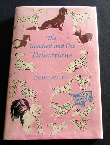 1956 1st Edition The Hundred & One Dalmatians by Dodie Smith with Original Dust Jacket (1 of 5)