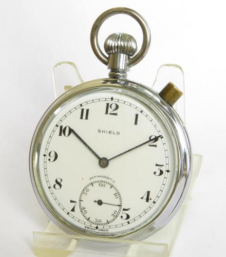 1940s Shield Time Trials 'Richmond Timer' Pocket Watch (1 of 4)