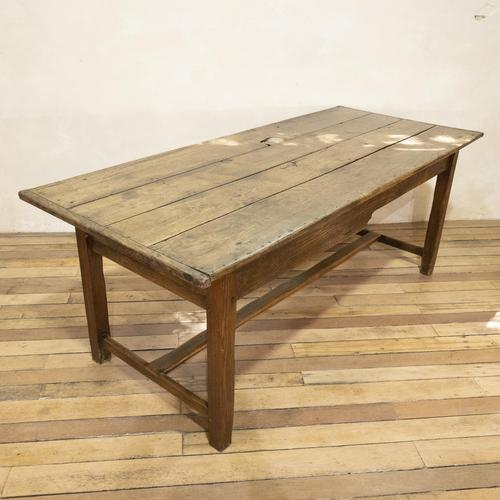 George III Oak Country Refectory Farmhouse Table (1 of 14)