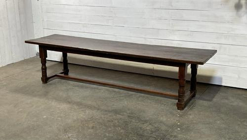 Wonderful Antique Large Refectory Farmhouse Dining Table (1 of 31)