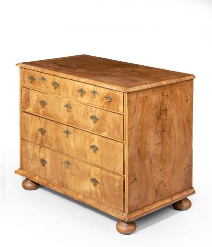 Queen Anne Period Chest of Drawers (1 of 6)