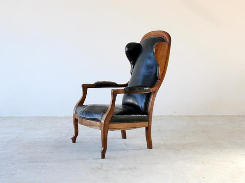 19th Century Louis Philippe Open Armchair (1 of 9)