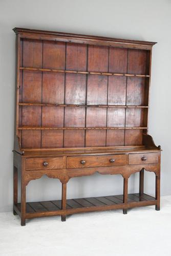 Antique Oak & Pine Kitchen Dresser (1 of 12)